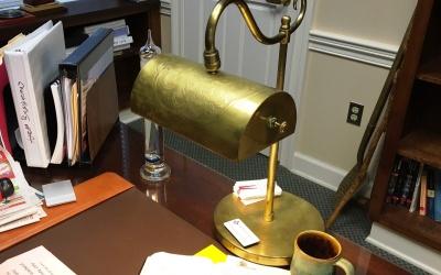 A Lamp Unto My Desk